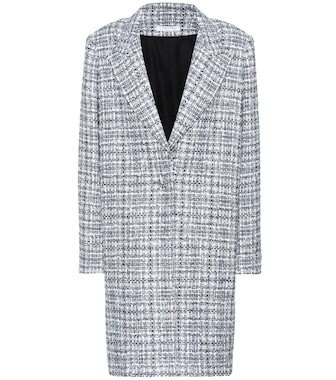 Lanvin - Tweed coat - mytheresa.com