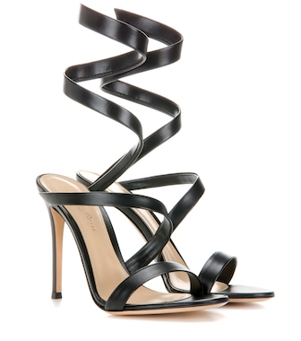 Gianvito Rossi - Opera 105 leather sandals - mytheresa.com