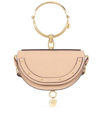 Chloé - Nile Minaudière leather crossbody bag - mytheresa.com