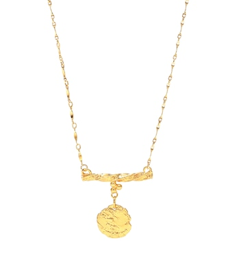 Alighieri - The Impossible Horizon 24kt gold-plated bronze necklace - mytheresa.com