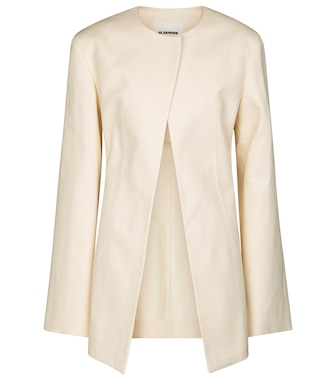 Jil Sander - Tailored cotton jacket - mytheresa.com