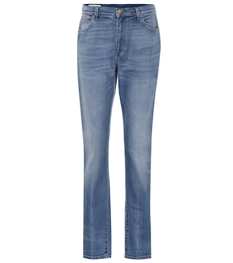 Gucci - High-waisted skinny jeans - mytheresa.com