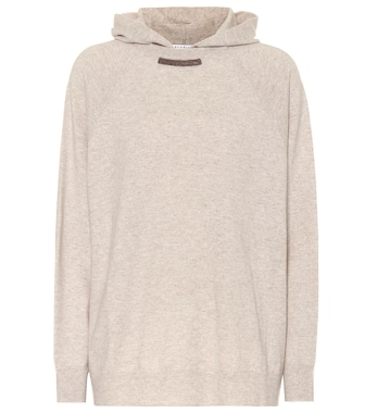 Brunello Cucinelli - Wool and cashmere hoodie - mytheresa.com