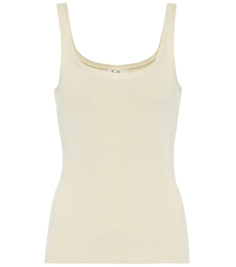 The Row - Exclusive to Mytheresa – Lanna silk tank top - mytheresa.com