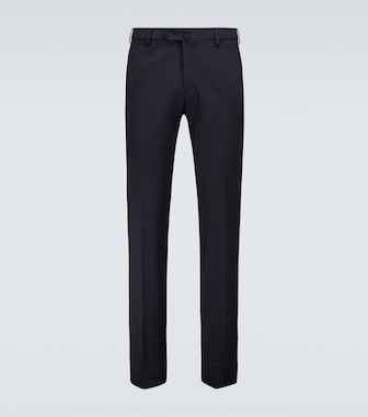 Loro Piana - Wool and cotton-blend pants - mytheresa.com