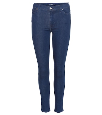 7 For All Mankind - The High Waist Skinny Crop jeans - mytheresa.com