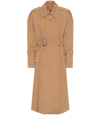 Acne Studios - Cotton trench coat - mytheresa.com