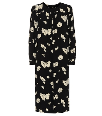 A.P.C. - June floral crêpe dress - mytheresa.com