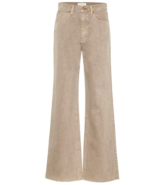 Slvrlake - Grace Crop high-rise wide-leg jeans - mytheresa.com