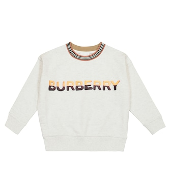 Burberry Kids - Sweat-shirt en coton à logo - mytheresa.com