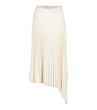 Joseph - Swinton pleated crêpe midi skirt - mytheresa.com