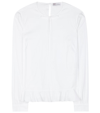 REDValentino - Cotton-blend shirt - mytheresa.com