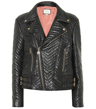 Gucci - Quilted leather jacket - mytheresa.com
