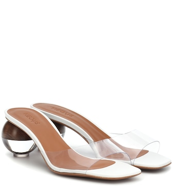 Neous - Opus transparent sandals - mytheresa.com