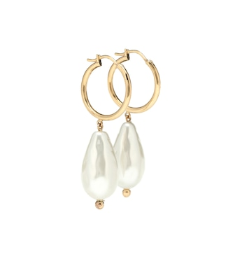 Simone Rocha - Baroque pearl earrings - mytheresa.com