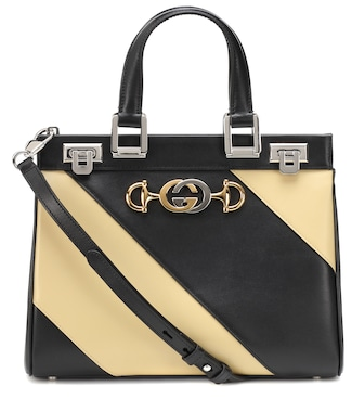 Gucci - Gucci Zumi Small leather tote - mytheresa.com