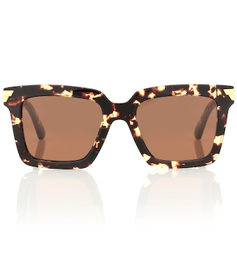 Bottega Veneta - Square acetate sunglasses - mytheresa.com