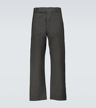 Prada - Wide-leg pants - mytheresa.com
