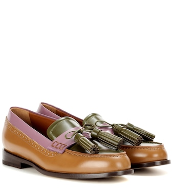 Etro - Leather loafers - mytheresa.com