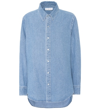 Balenciaga - Denim shirt - mytheresa.com