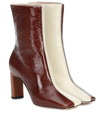 Wandler - Isa 85 leather ankle boots - mytheresa.com