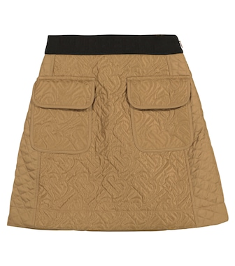 Burberry Kids - Monogram quilted skirt - mytheresa.com