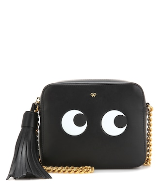 Anya Hindmarch - Eyes Right leather crossbody bag - mytheresa.com