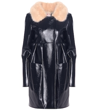 Shrimps - Locket faux leather coat - mytheresa.com