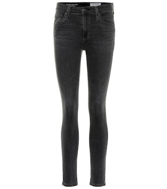 AG Jeans - High-Rise Skinny Jeans The Farrah - mytheresa.com