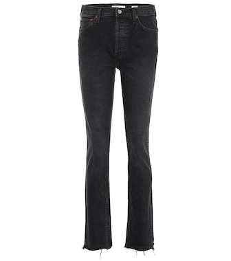 Re/Done - Double Needle high-rise jeans - mytheresa.com