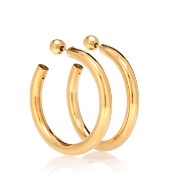 Sophie Buhai - Medium Everyday Hoops 18kt gold vermeil earrings - mytheresa.com