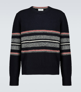Thom Browne - Wool and mohair-blend sweater - mytheresa.com