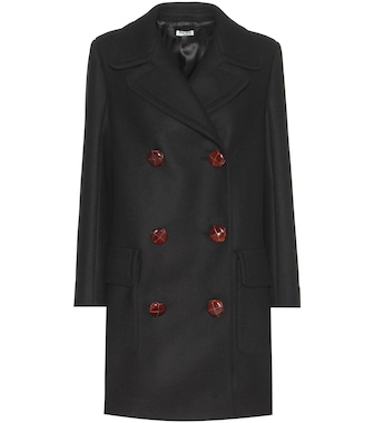 Miu Miu - Wool coat - mytheresa.com