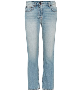The Row - Mid-Rise Straight Jeans Ashlans - mytheresa.com