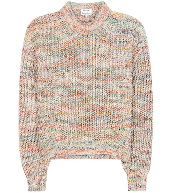 Acne Studios - Zora wool-blend sweater - mytheresa.com