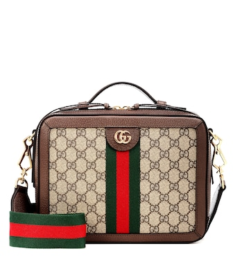 Gucci - Ophidia Small GG Supreme shoulder bag - mytheresa.com