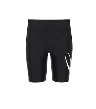 Marine Serre - Technical stretch shorts - mytheresa.com