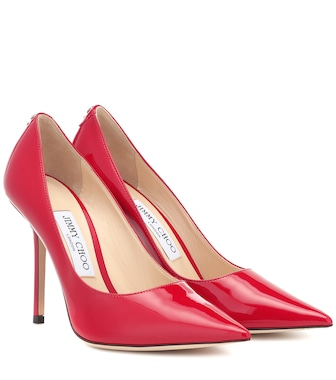 Jimmy Choo - Love 100 patent leather pumps - mytheresa.com
