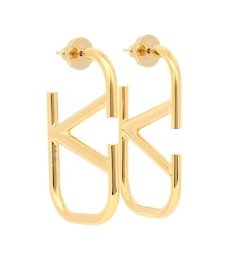 Valentino - VLOGO earrings - mytheresa.com