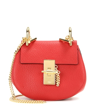 Chloé - Drew Nano leather shoulder bag - mytheresa.com
