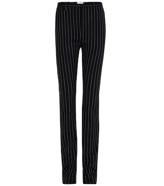 Balenciaga - Cosmetic Slit wool trousers - mytheresa.com