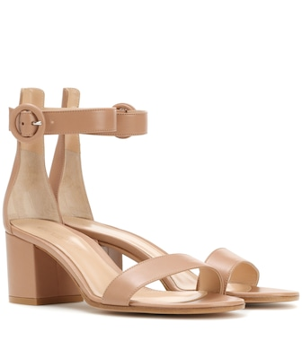 Gianvito Rossi - Exclusive to Mytheresa – Versilia 60 leather sandals - mytheresa.com