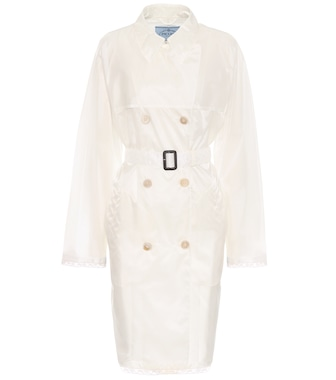 Prada - Transparent coat - mytheresa.com