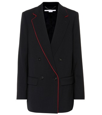 Stella McCartney - Double-breasted wool blazer - mytheresa.com