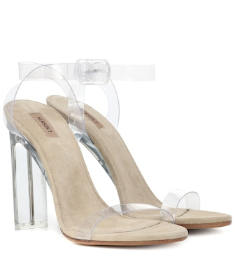 Yeezy - Transparent sandals (SEASON 7) - mytheresa.com