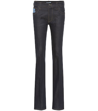 Prada - High-rise straight jeans - mytheresa.com