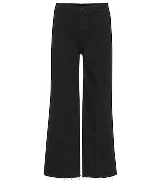 Mother - Swooner high-rise wide-leg jeans - mytheresa.com