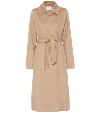 Max Mara - Manuela Icon camel hair coat - mytheresa.com