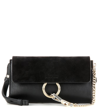 Chloé - Faye Mini leather wallet bag - mytheresa.com