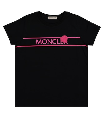 Moncler Enfant - Logo cotton T-shirt - mytheresa.com